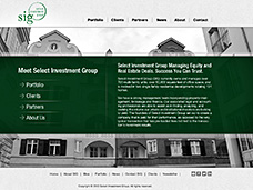 Select Investment, UI/UX Design